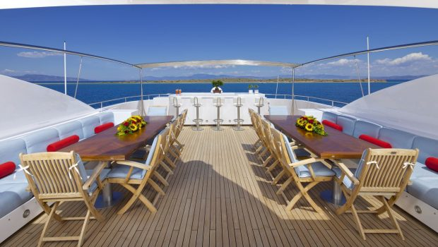 o_ceanos superyacht charter sundeck_valef -  Valef Yachts Chartering - 5537