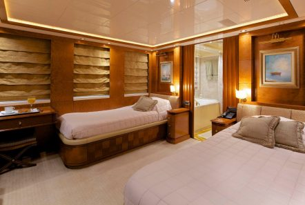 o_ceanos superyacht charter twins stateroom (1)_valef -  Valef Yachts Chartering - 5534