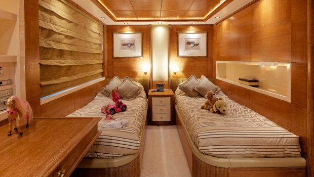 o_ceanos superyacht charter twins stateroom (2)_valef -  Valef Yachts Chartering - 5533