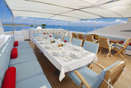 o_ceanos superyacht charter upper dining_valef -  Valef Yachts Chartering - 5532