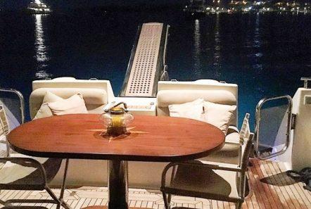 aventura ii aft deck eve_valef -  Valef Yachts Chartering - 5619