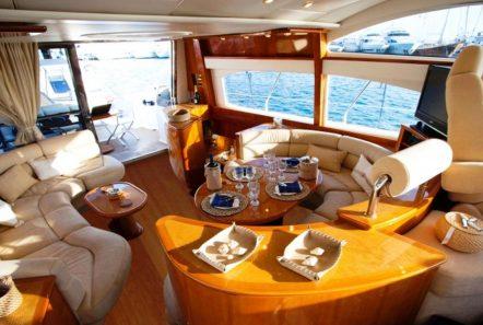 aventura ii salon and dining (4)_valef -  Valef Yachts Chartering - 5596