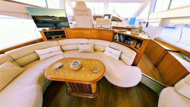 aventura ii salon and dining (7)_valef -  Valef Yachts Chartering - 5593