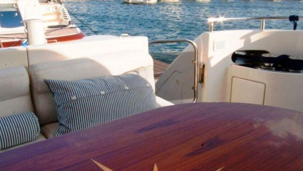 aventura ii teak table_valef -  Valef Yachts Chartering - 5586