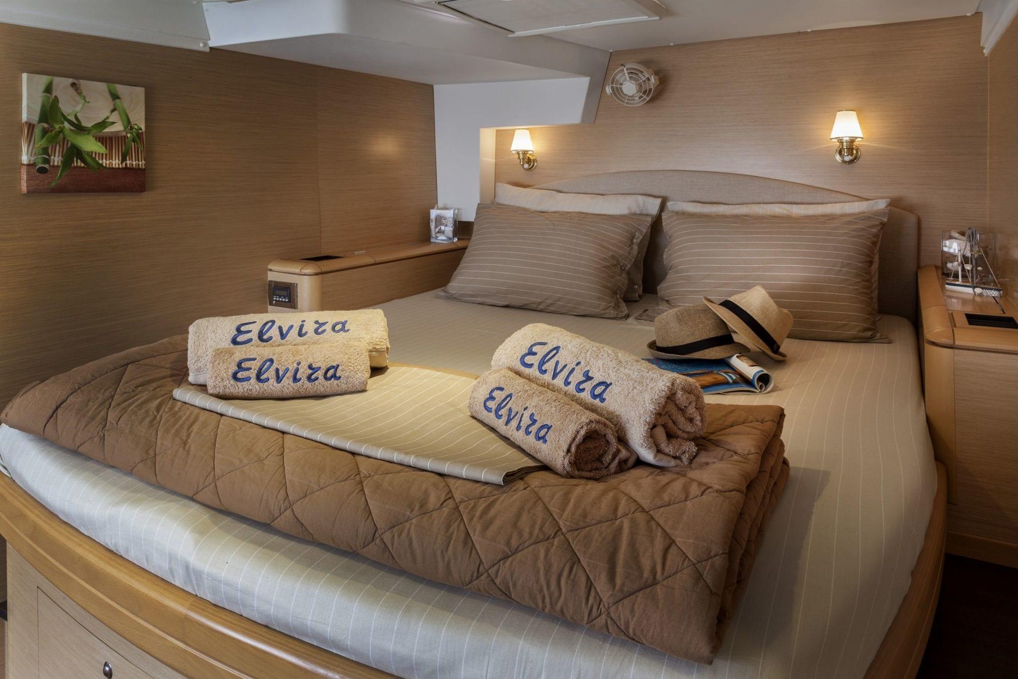 elvira catamaran lagoon 500 double cabins (1)_valef -  Valef Yachts Chartering - 5574