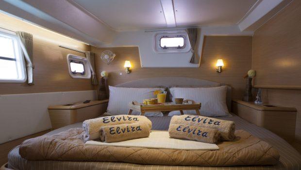 elvira catamaran lagoon 500  double cabins (3)_valef -  Valef Yachts Chartering - 5584