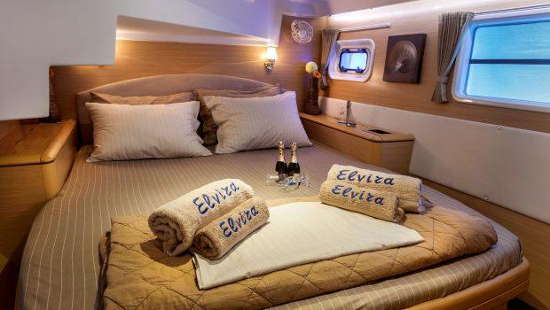 elvira catamaran lagoon 500  double cabins (8)_valef -  Valef Yachts Chartering - 5579