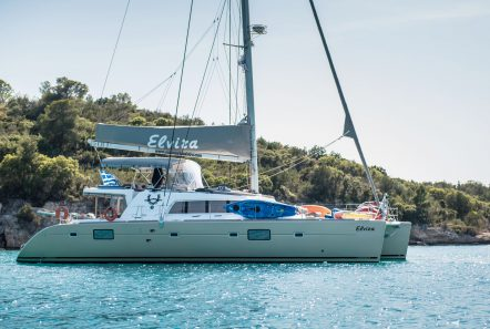 elvira catamaran lagoon 500 exterior (2)_valef -  Valef Yachts Chartering - 5572