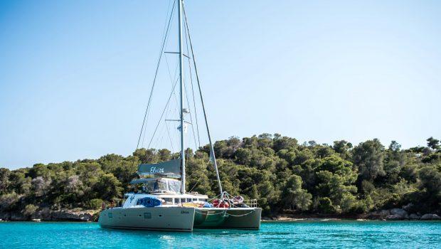 elvira catamaran lagoon 500 exterior (3)_valef -  Valef Yachts Chartering - 5571