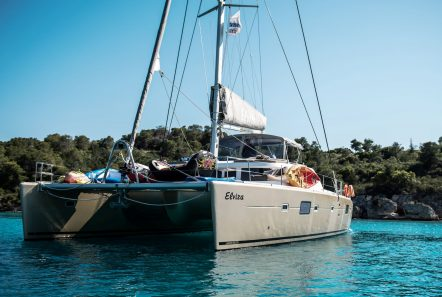 elvira catamaran lagoon 500 exterior (4)_valef -  Valef Yachts Chartering - 5570