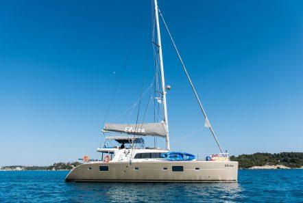 elvira catamaran lagoon 500 profile_valef -  Valef Yachts Chartering - 5566