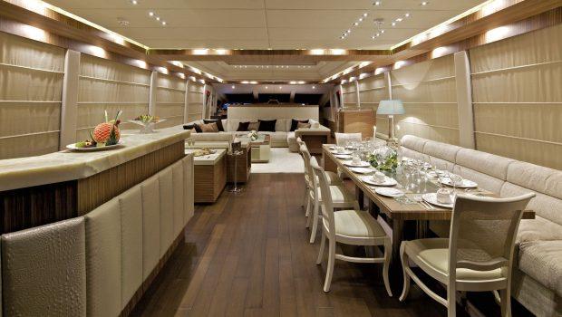 o'pati salon dining (1)_valef -  Valef Yachts Chartering - 5645