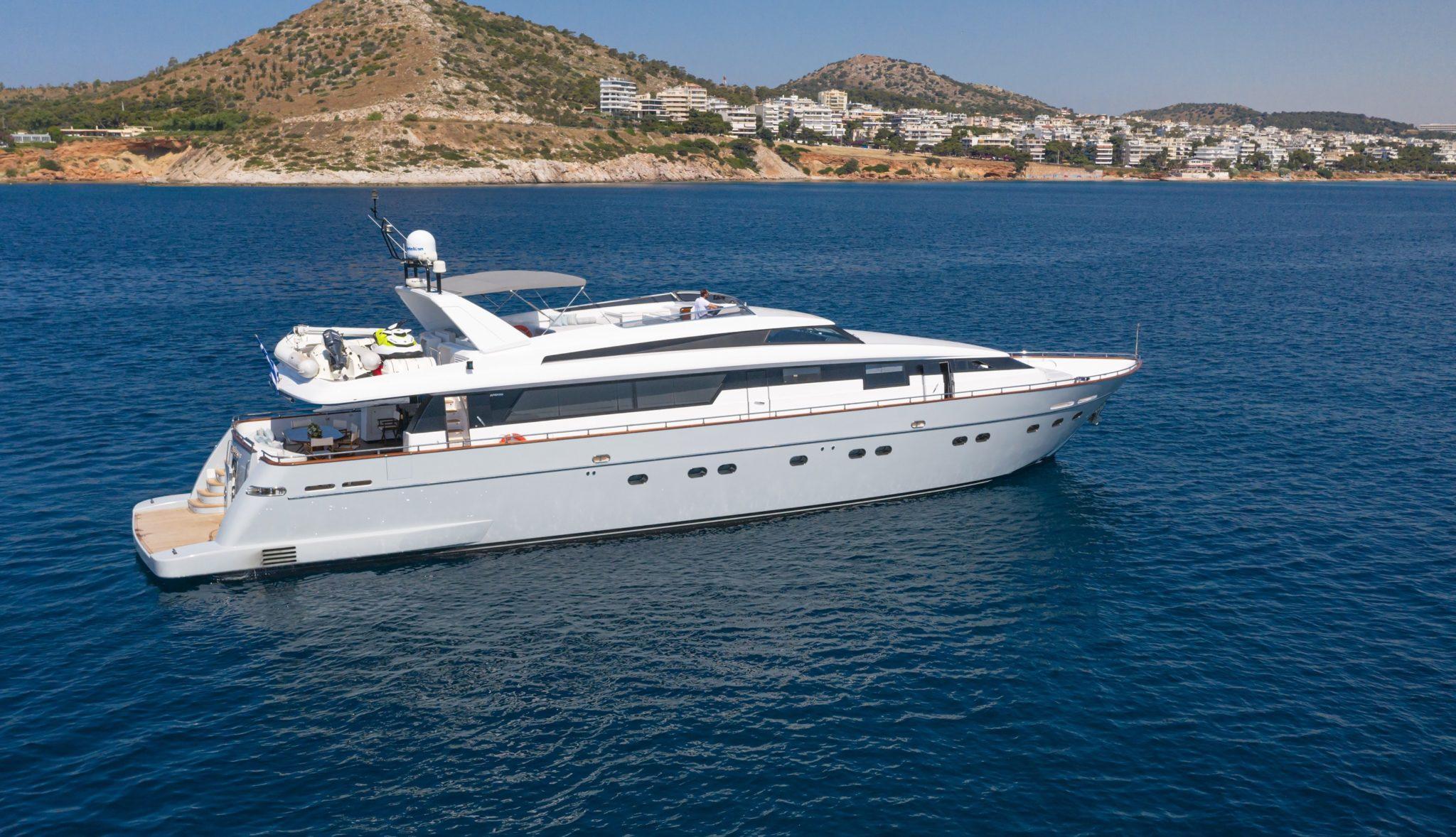 grace motor yacht profile shot (1) min -  Valef Yachts Chartering - 0686