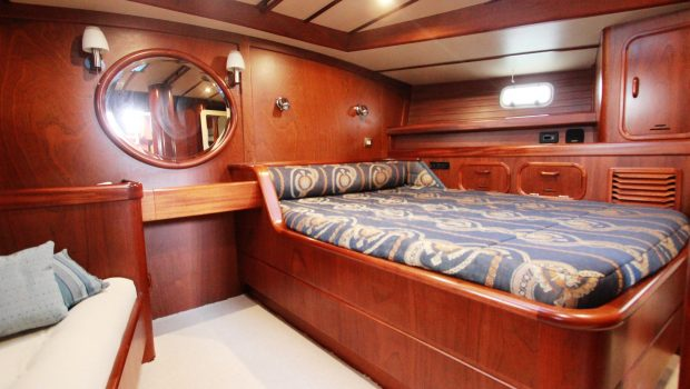 summer love sailing yacht  master cabin (2) min -  Valef Yachts Chartering - 4891