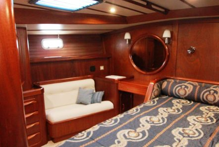 summer love sailing yacht  master cabin (3) min -  Valef Yachts Chartering - 4890