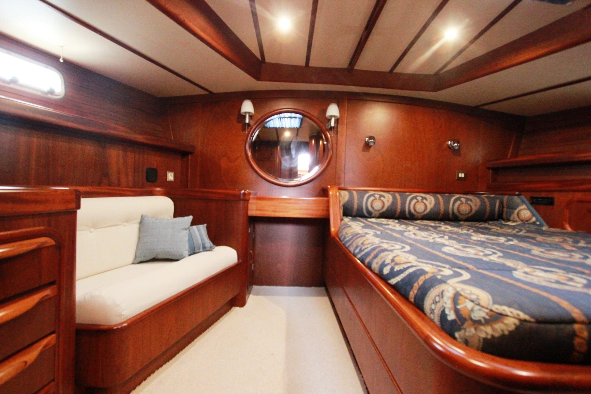 summer love sailing yacht  master cabin (4) min -  Valef Yachts Chartering - 4889