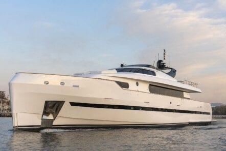 motor yacht Project Steel cruising