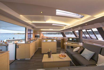 Saba 50 TIZIANO Catamaran charter (19) -  Valef Yachts Chartering - 2748