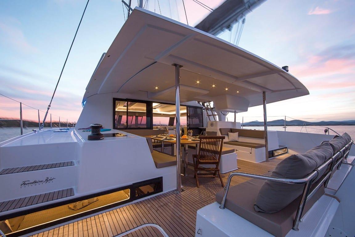 Saba 50 TIZIANO Catamaran charter (20) -  Valef Yachts Chartering - 2747