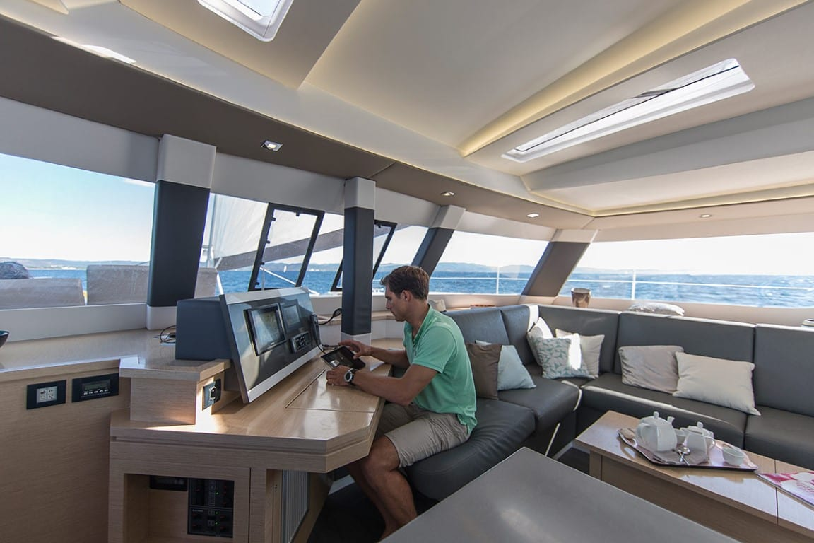 Saba 50 TIZIANO Catamaran charter (32) -  Valef Yachts Chartering - 2744
