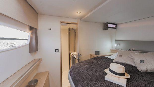tiziano saba 50 catamaran cabins (1) -  Valef Yachts Chartering - 2776