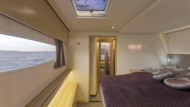 tiziano saba 50 catamaran cabins (2) -  Valef Yachts Chartering - 2775