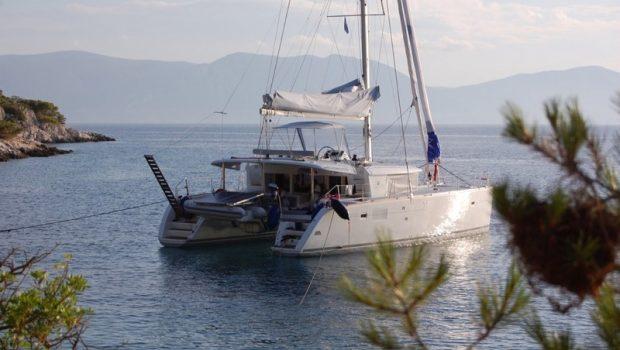 tiziano saba 50 catamaran docked -  Valef Yachts Chartering - 2769