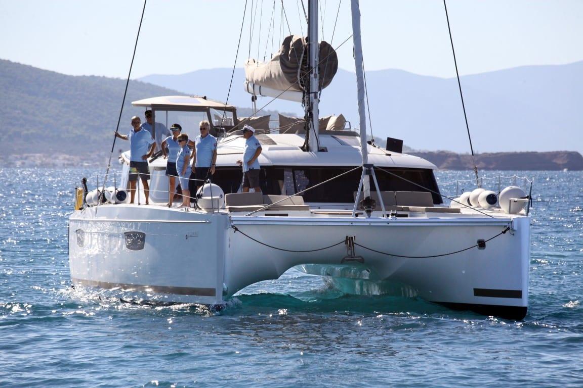 tiziano saba 50 catamaran exterior (1) -  Valef Yachts Chartering - 2768