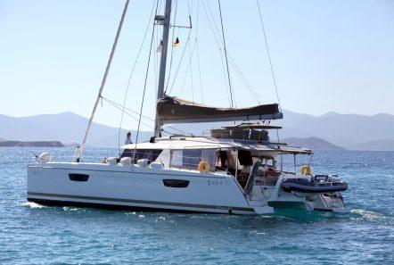 tiziano saba 50 catamaran exterior (6) -  Valef Yachts Chartering - 2763