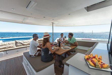 tiziano saba 50 catamaran exterior spaces (1) -  Valef Yachts Chartering - 2762