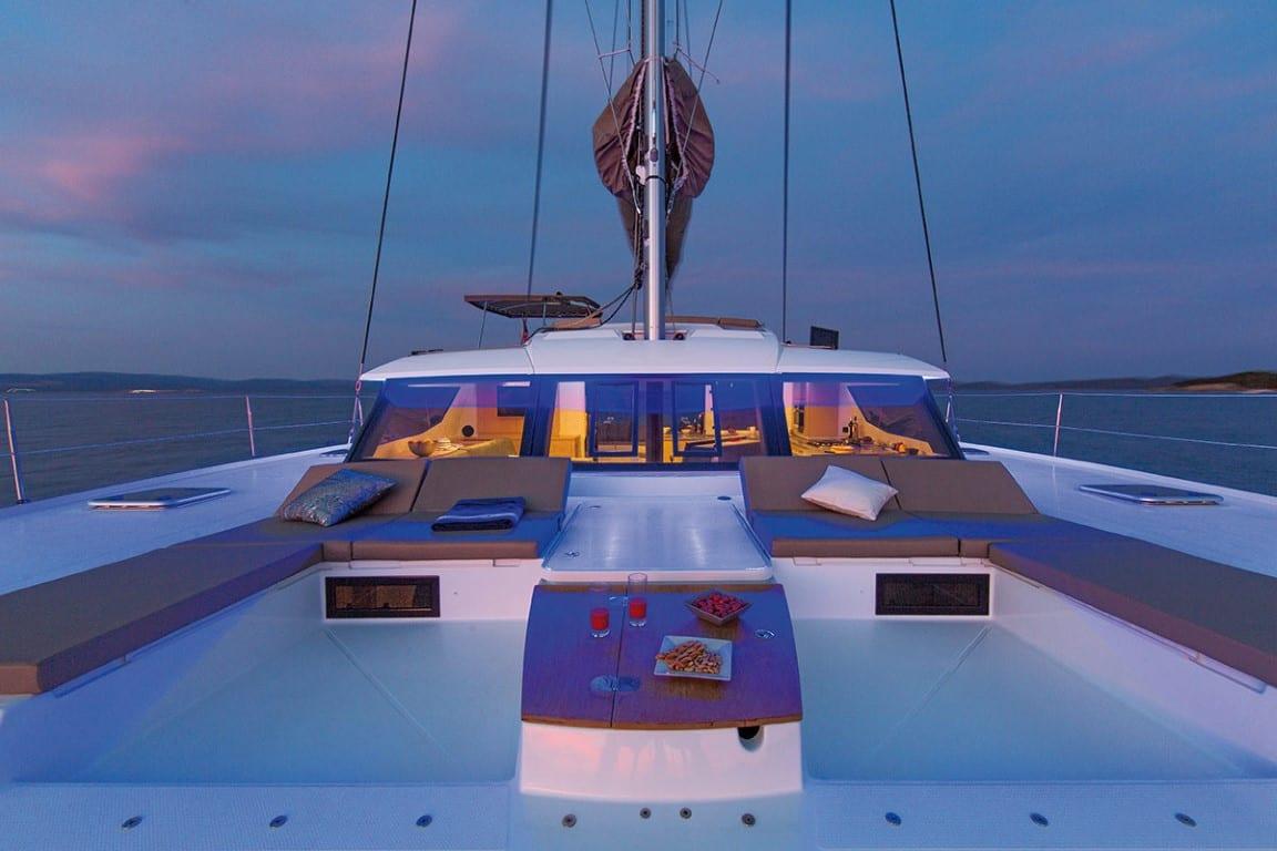 tiziano saba 50 catamaran exterior spaces (2) -  Valef Yachts Chartering - 2761