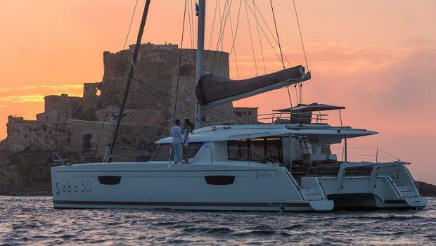 tiziano saba 50 catamaran profile (2) -  Valef Yachts Chartering - 2754