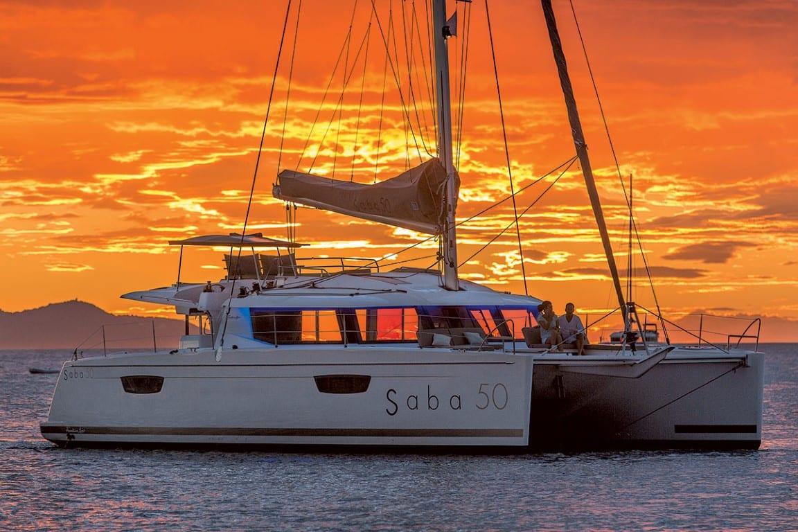 tiziano saba 50 catamaran profile (3) -  Valef Yachts Chartering - 2753