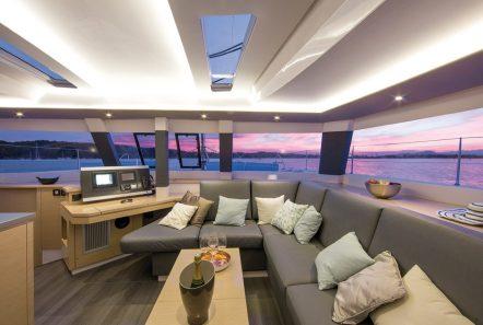 tiziano saba 50 catamaran salon (1) -  Valef Yachts Chartering - 2752