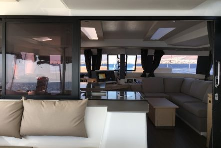 tiziano saba 50 catamaran salon view -  Valef Yachts Chartering - 2749