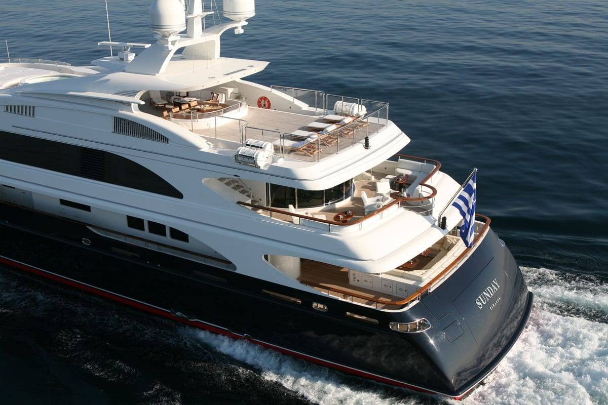sunday megayacht exterior (2) -  Valef Yachts Chartering - 3327