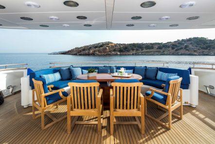 jaan aft dining1 (2)_valef -  Valef Yachts Chartering - 5707