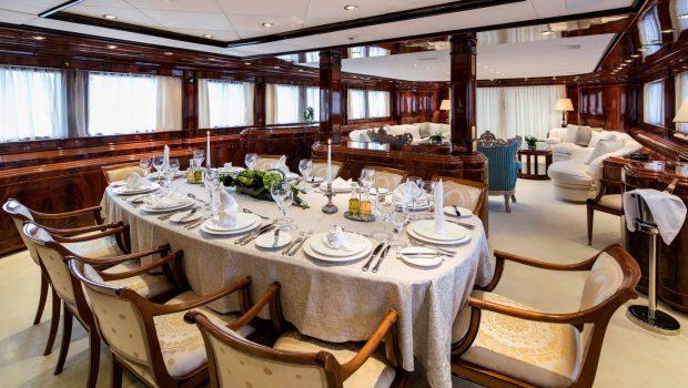 jaan dining (1)_valef -  Valef Yachts Chartering - 5702