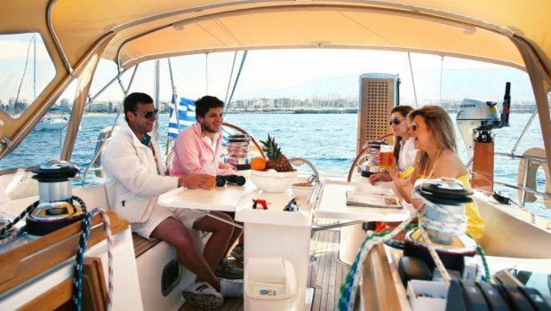 mythos sailing yacht aft_valef -  Valef Yachts Chartering - 5426