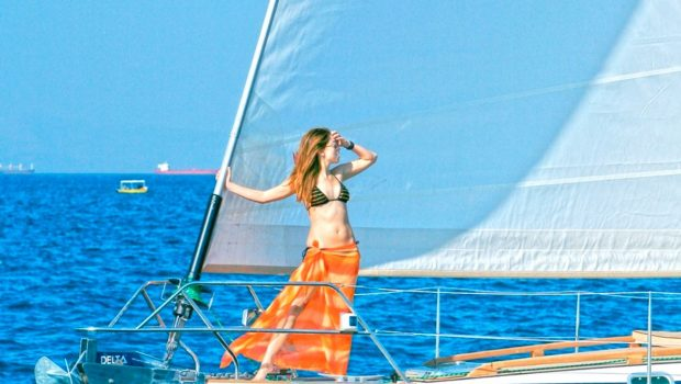 mythos sailing yacht bow view_valef -  Valef Yachts Chartering - 5424