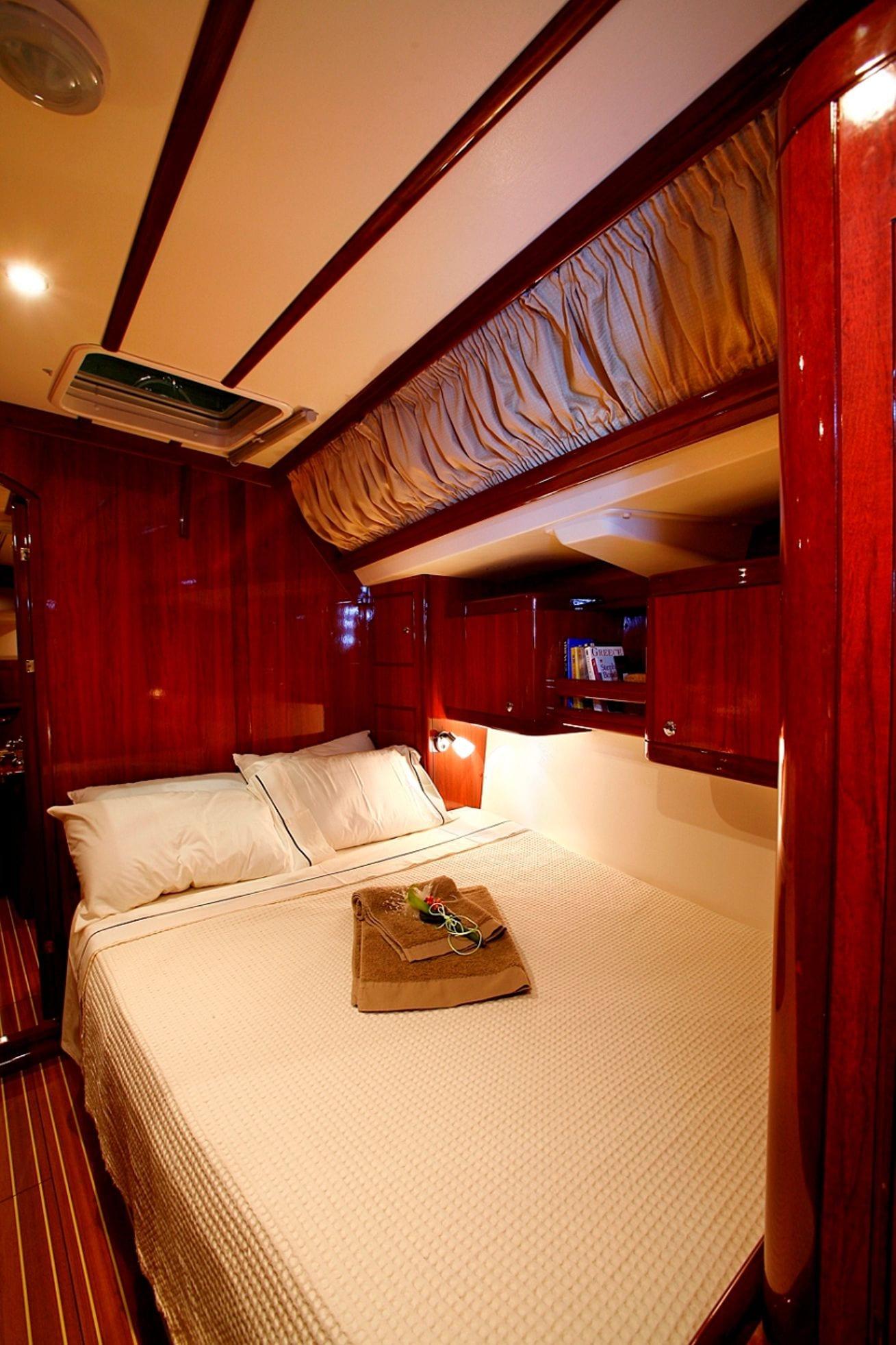 mythos sailing yacht double cabin1_valef -  Valef Yachts Chartering - 5423