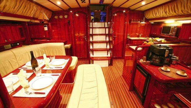 mythos sailing yacht salon_valef -  Valef Yachts Chartering - 5413