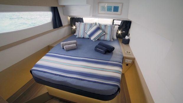 new horizons ii catamaran cabins (1)_valef -  Valef Yachts Chartering - 5398