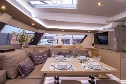 new horizons ii catamaran dining_valef -  Valef Yachts Chartering - 5396