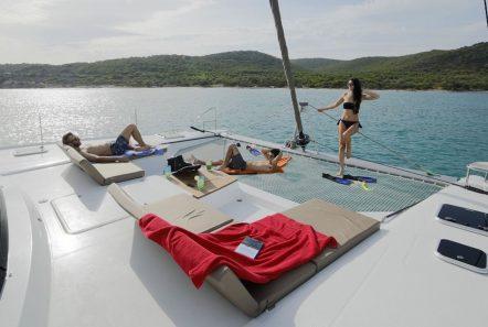 new horizons ii catamaran fore_valef -  Valef Yachts Chartering - 5394