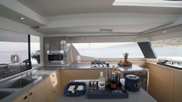 new horizons ii catamaran galley_valef -  Valef Yachts Chartering - 5393