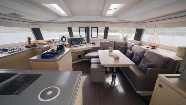 new horizons ii catamaran interior space (1)_valef -  Valef Yachts Chartering - 5392