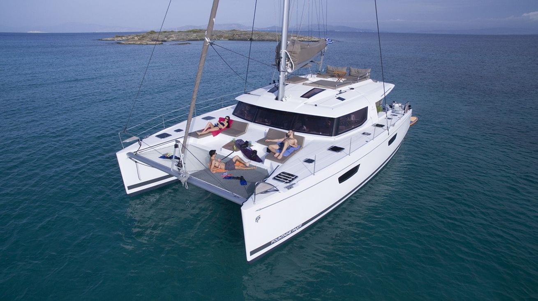 new horizons ii catamaran profile_valef -  Valef Yachts Chartering - 5389