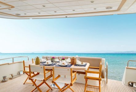 aimilia motor yacht aft deck_valef -  Valef Yachts Chartering - 5869