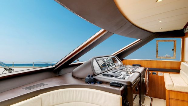 aimilia motor yacht bridge2_valef -  Valef Yachts Chartering - 5870